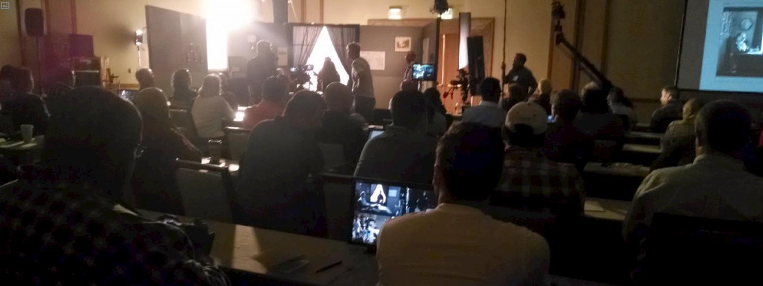 Directing Motion workshop with Vincent Laforet