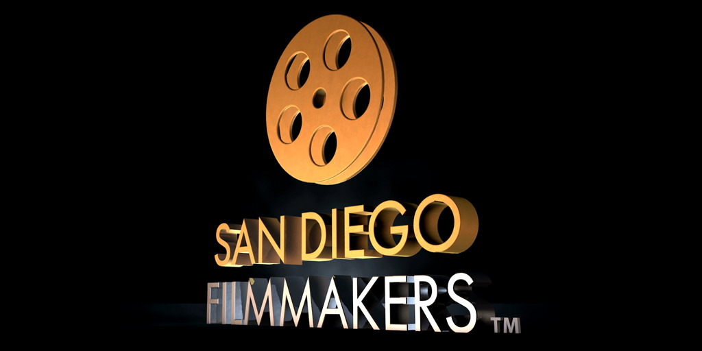 San Diego Filmmakers animated logo.