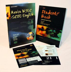 WJEC English materials.