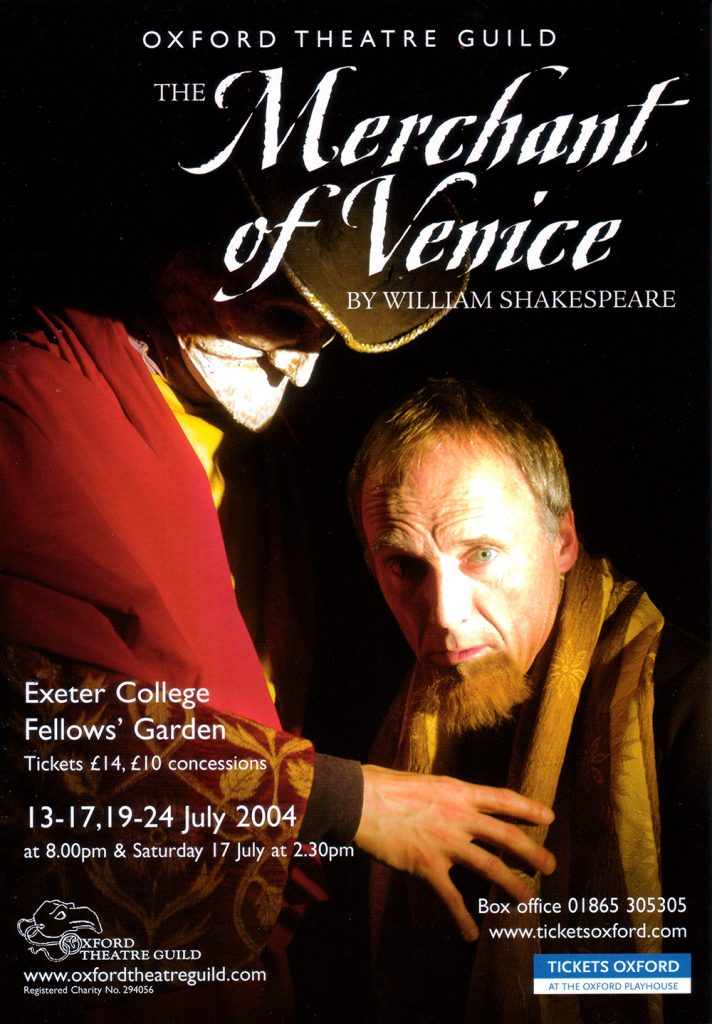 Merchant of Venice Poster Design