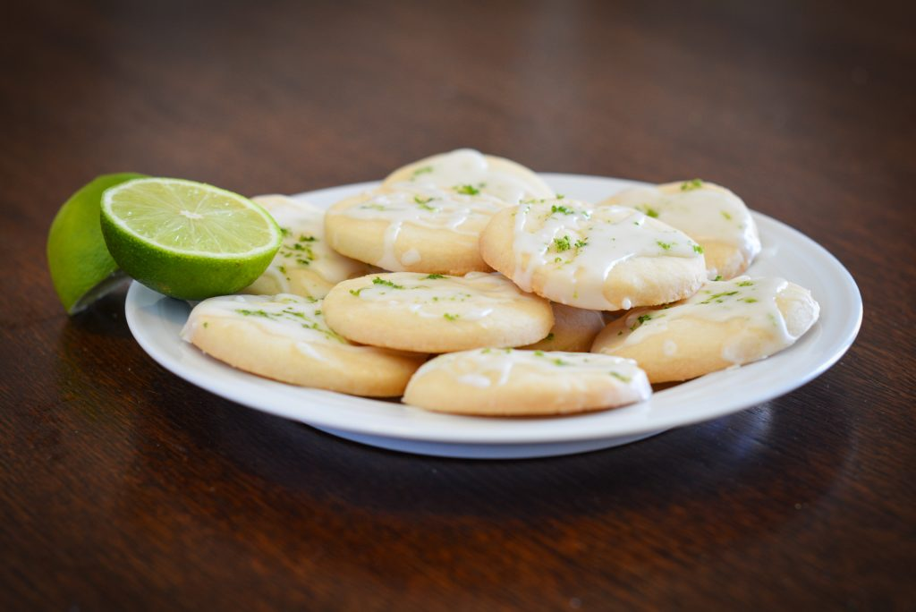 Key Lime Cookies film and television food stylist