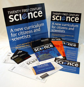21st Century Science materials.