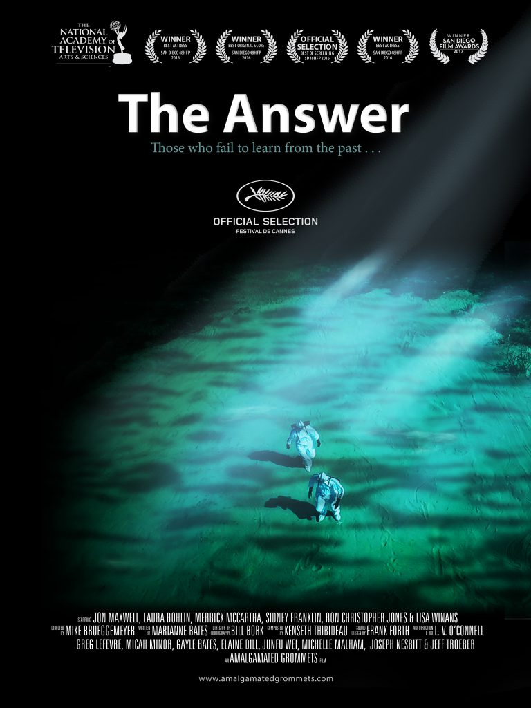 The Answer Movie Poster Design