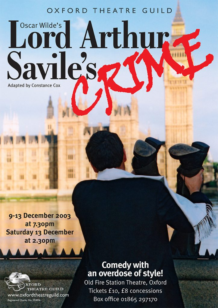Lord Arthur Savile's Crime Poster Design
