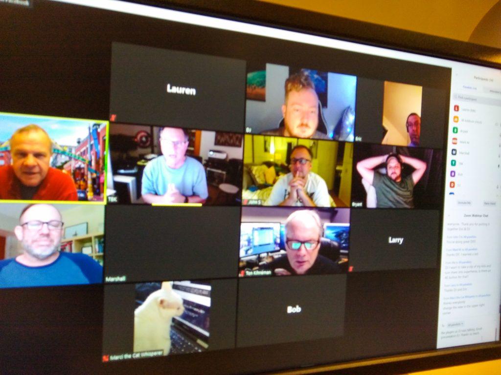 After Effects plugins meeting members.