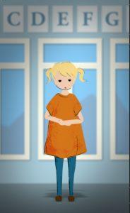 Treasure All Animation character design young Peyton